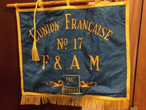 French Lodge Banner
