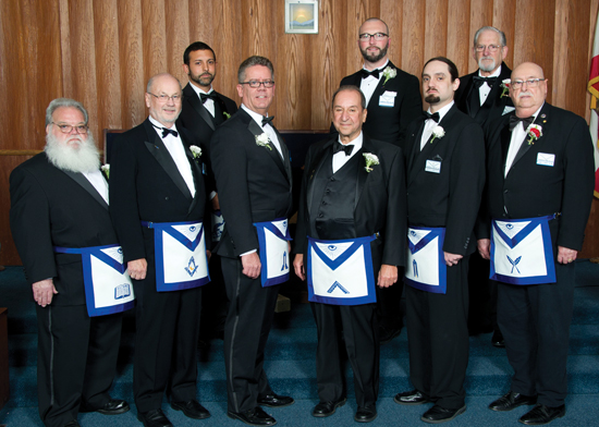 Officers of Peninsula Lodge - 2014